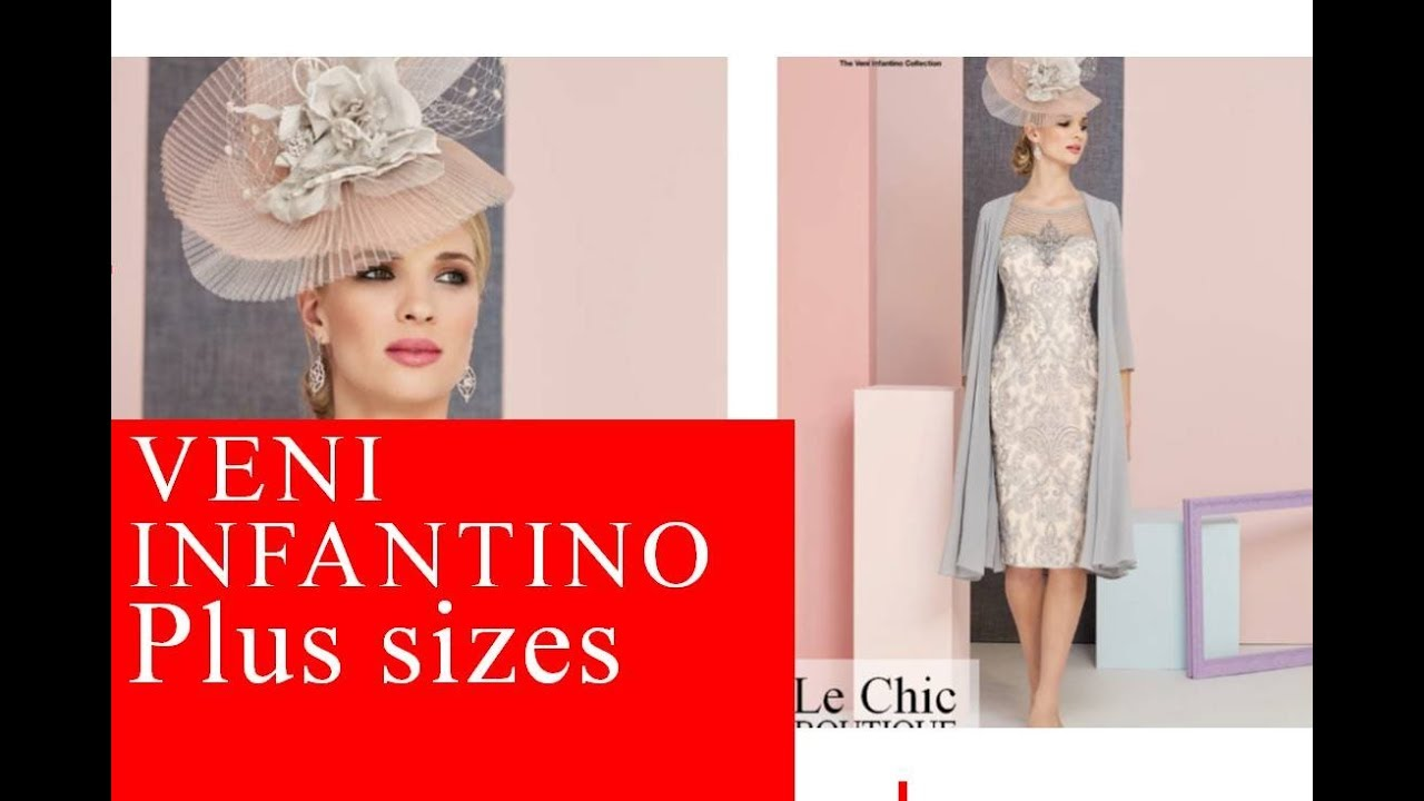 ac0c4e397fd Le Chic Boutique Veni Infantino plus sizes 2018 (Ronald Joyce) - YouTube