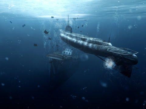Морской бой Подводная война Играть онлайн или скачать