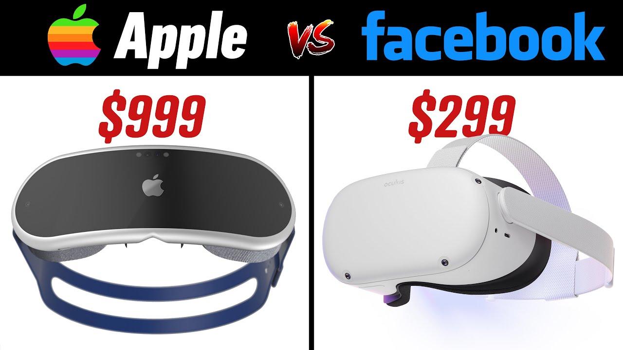 Apple vs Facebook - VR Headset Metaverse WAR of 2022!