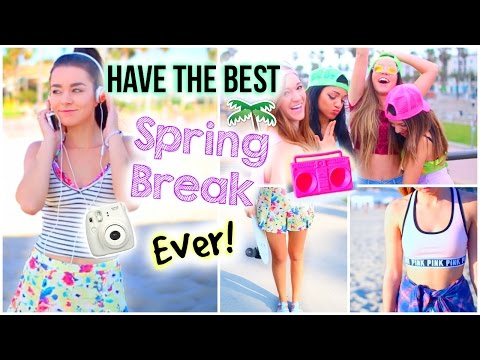 Spring Break Survival Guide! What To Do, Outfits, Essentials and How To Prepare!