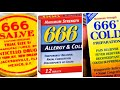 Ever Heard Of 666 BRAND Cold Medicine? It's been around for over 100 years! Mandela Effect 2018