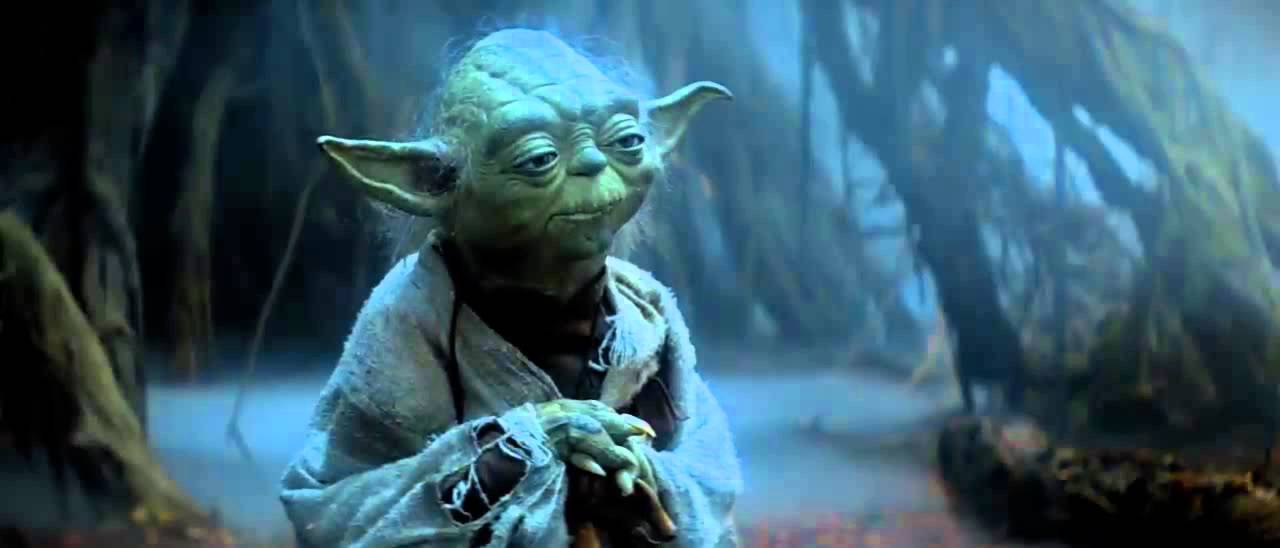Master Yoda Quote Try Star Wars V The Empire Strikes Back