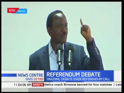 Wiper Leader Kalonzo Musyoka supports proposals to amend the constitution