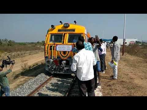 Train Started on 29 Dec 2016. From JAGTIAL To MORTHAD  Via Medipalli,Korutla,Metpally to Morthad....