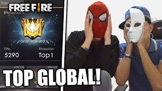 DE ESTA FORMA VOY A LLEGAR a TOP GLOBAL #1 en SÓLO 24 HORAS en FREE FIRE! *épico*
