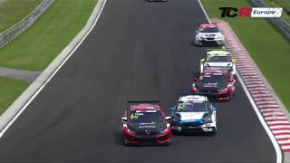 2018 Hungaroring, TCR Europe Round 8 Clip