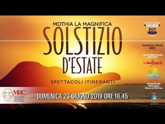 Il Movimento Artistico Culturale presenta il cartellone estate 2019