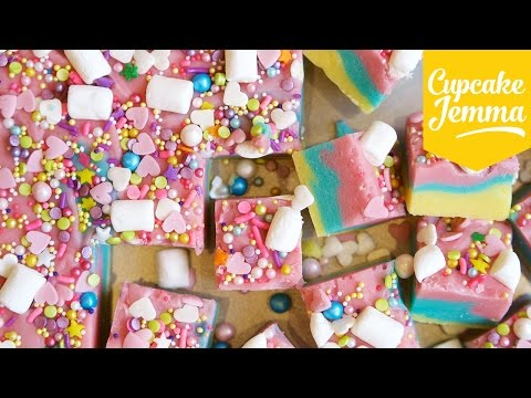 Download Youtube: How to Make Unicorn Fudge | Cupcake Jemma