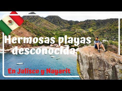 Playa el Toro, Playa Corrales, Tehuamixtle / Playas desconocidas Jalisco y Nayarit - Luisitoviajero