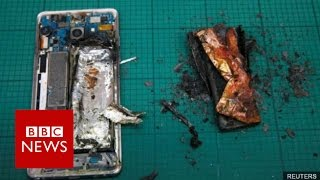 Samsung permanently stops Galaxy Note 7 production - BBC News