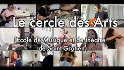 The Show Must Go On Confiné joué par les élèves et professeurs du Cercle des arts de Saint-Gratien