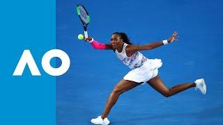 Alizé Cornet v Venus Williams match highlights (2R) | Australian Open 2019