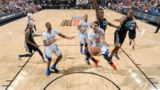 Summer League: Charlotte Hornets vs New York Knicks