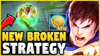 WTF! THE *NEW KEYSTONE* IS 100% BROKEN ON GAREN! (FULL BUILD 25 MINS EVERY GAME) - League of Legends