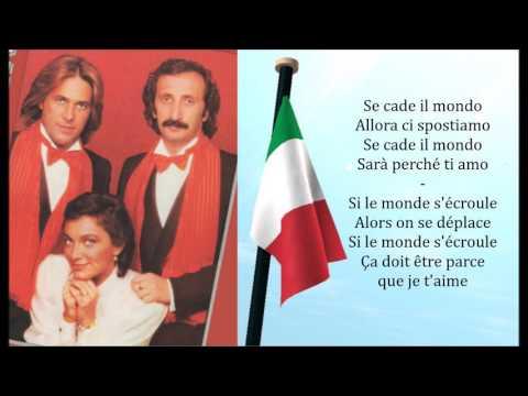Ricchi e Poveri - Sarà Perché Ti Amo Lyrics \u0026 Traduction Française