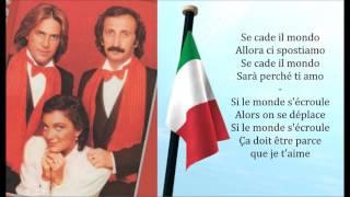 Ricchi e Poveri - Sarà Perché Ti Amo Lyrics & Traduction Française