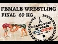 Final - Female Wrestling 69 kg - KUENZ (AUT) vs SKUJINA (LAT) - Grand Prix of Paris