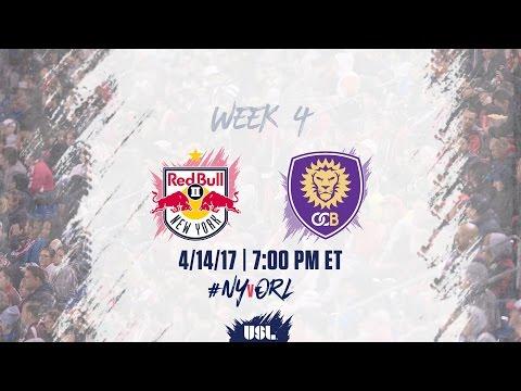 USL LIVE - New York Red Bulls II vs Orlando City B 4/14/17