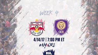 New York Red Bulls USL vs Orlando City II full match