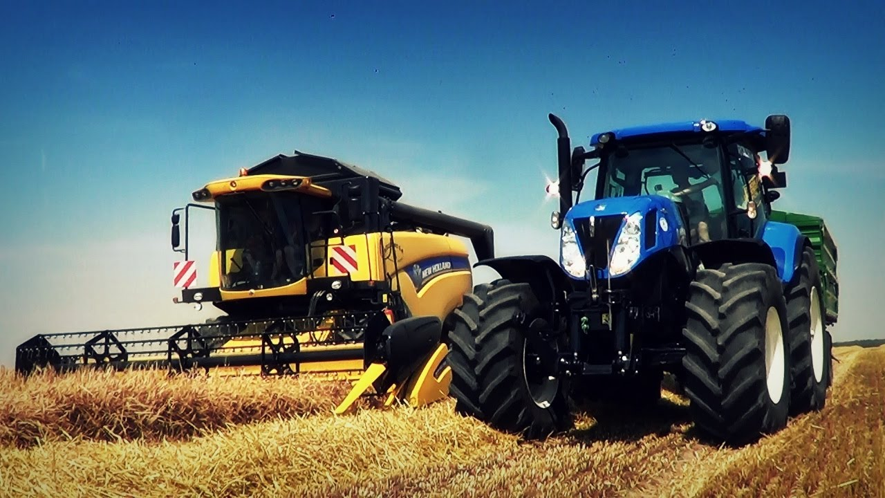Niwa Harvest With New Holland