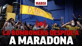 Muere Maradona: La Bombonera despide a D10S I MARCA