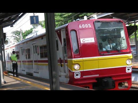 koleksi Krl Commuter line melintas langsung stasiun, bukan untuk penumpang