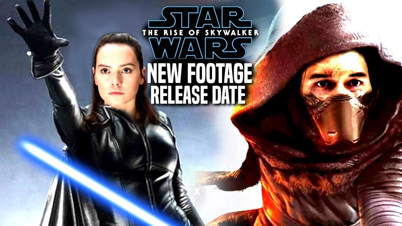 The Rise Of Skywalker Footage Release Date Revealed! (Star