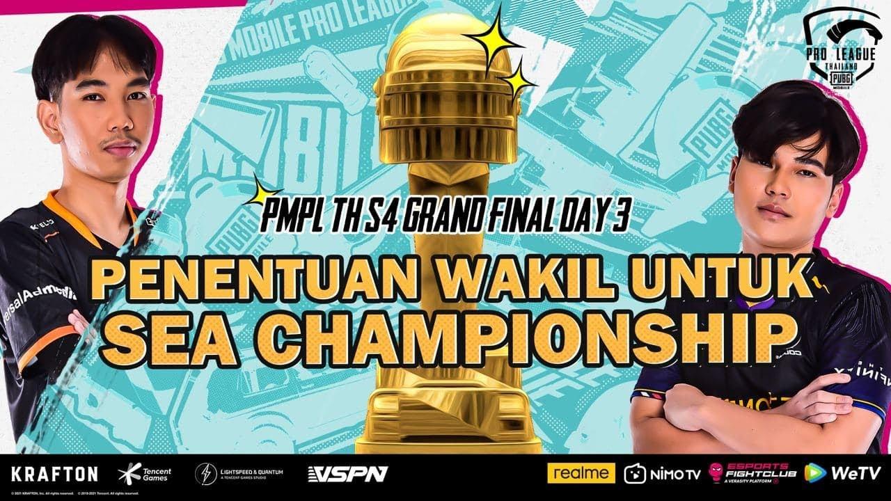 PMPL S4 Grand Final TH | Day 3 | PERWAKILAN WAKIL UNTUK SEA CHAMPIONSHIP