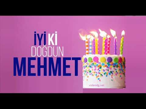 Doğum Günün Kutlu Olsun - MEHMET - ( 29.06.∞ )