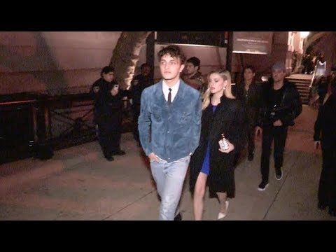 Anwar Hadid and Nicola Peltz leaving the Tom Ford Fashion