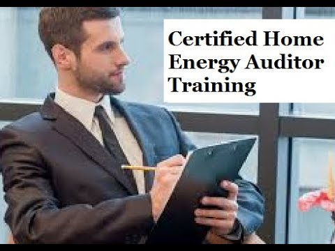 Certified Home Energy Auditor Training