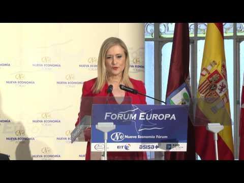 Fórum Europa con Cristina Cifuentes