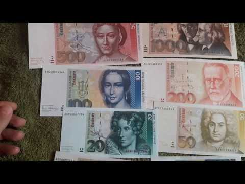 AWESOME Pre-EURO GERMAN MARK FULL SET! (Deutsche Mark)
