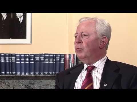 Interview de J. Santer: les circonstances de sa nomination à la présidence de la Commission