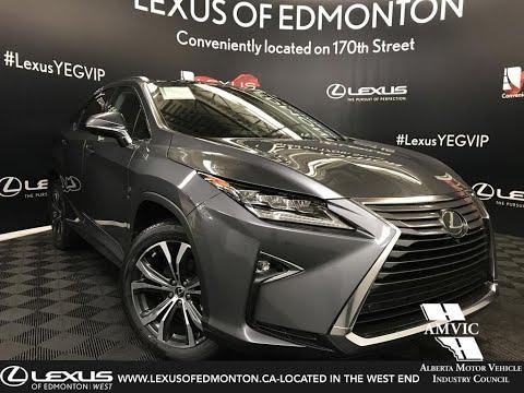 Grey 2019 Lexus RX 350 Executive Package Review - South Edmonton, Alberta, Canada