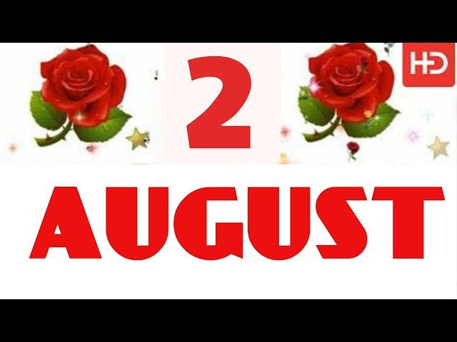2 AUGUST Special New Birthday Status Video , happy birthday