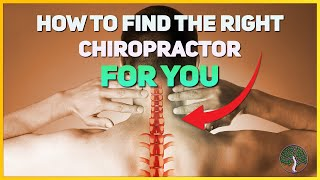 HOW TO FIND THE BEST CHIROPRACTOR NEAR YOU!
