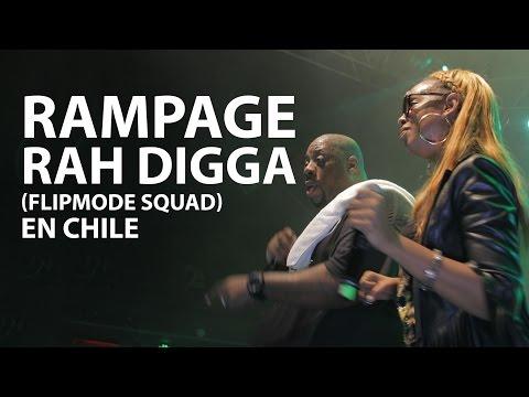 RAMPAGE FT RAH DIGGA EN CHILE CONCIERTO COMPLETO