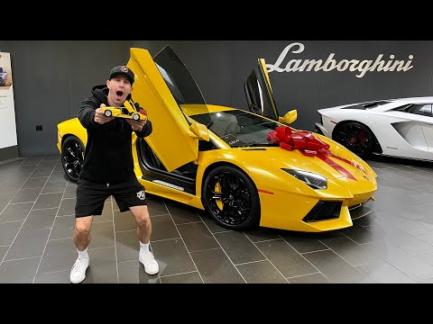 BUYING A LAMBORGHINI AVENTADOR!