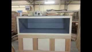 400+ gallon Plywood/fiberglass aquarium
