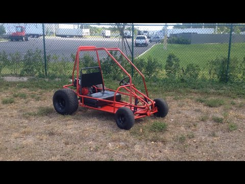 Yerf-dog 3020 go kart review | Doovi