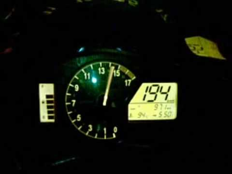 honda cbr 600rr 09 top speed 290 km/h - YouTube