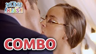 Soltero con hijas - C-41: ¡Camila y Hugo, se dan su primer beso! | Las Estrellas
