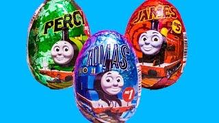 Kinder Surprise eggs Thomas the train Huevos Kinder Sorpresa Chocolate Toys