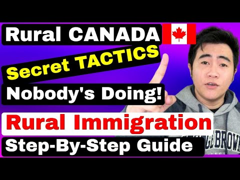 2020 RURAL CANADA IMMIGRATION TACTICS NOBODY'S DOING! STEP-BY-STEP RNIP