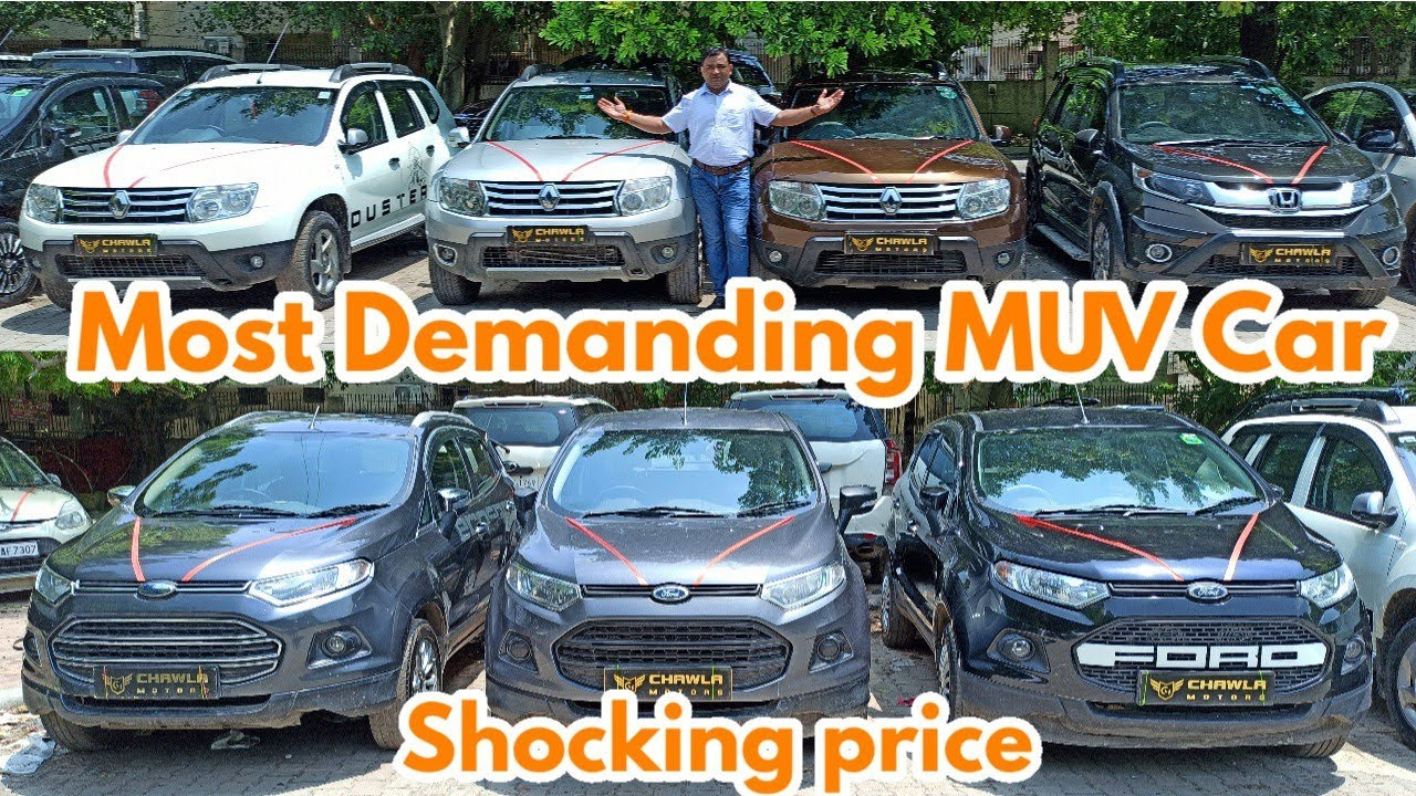 Affordable Used MUV Car At Best Price In Delhi || Duster, EcoSport, Honda BR-V, Vitara Brezza | @NTE