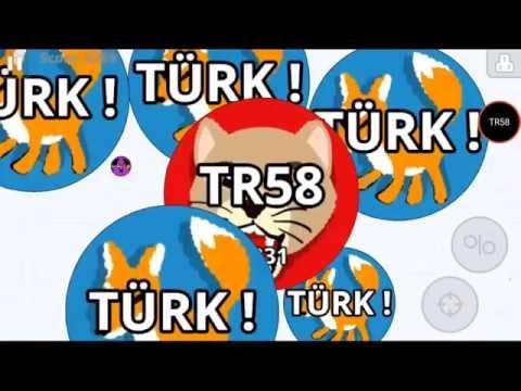 Agario TR58 Team TÜRK! On Mobile mit Handy