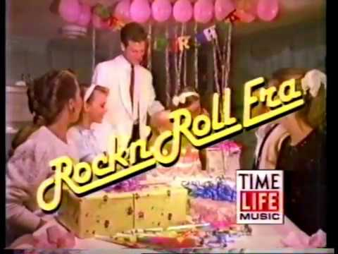 Time Life Music Rockn Roll Era 1959 Commercial from 1990