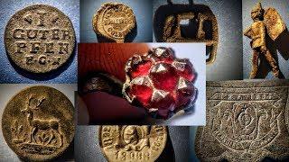 Sondeln auf Wiese und Acker - Wer suchet der findet! - schöner alter Ring, Münzen, Knöpfe - XP Deus