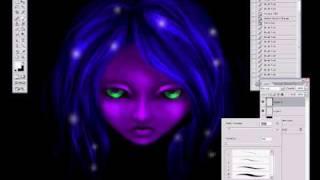 Hypnotic Girl (Speedpaint) Infected Mushroom - Becoming Insane